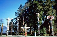 Totem Poles Picture